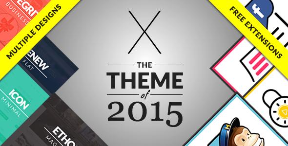 X Theme - The Theme of 2015