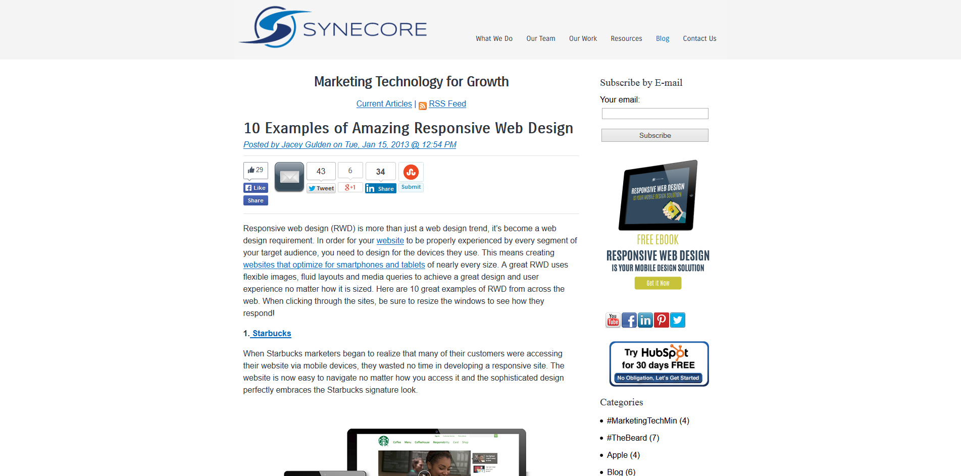Responsive Web Design Concord