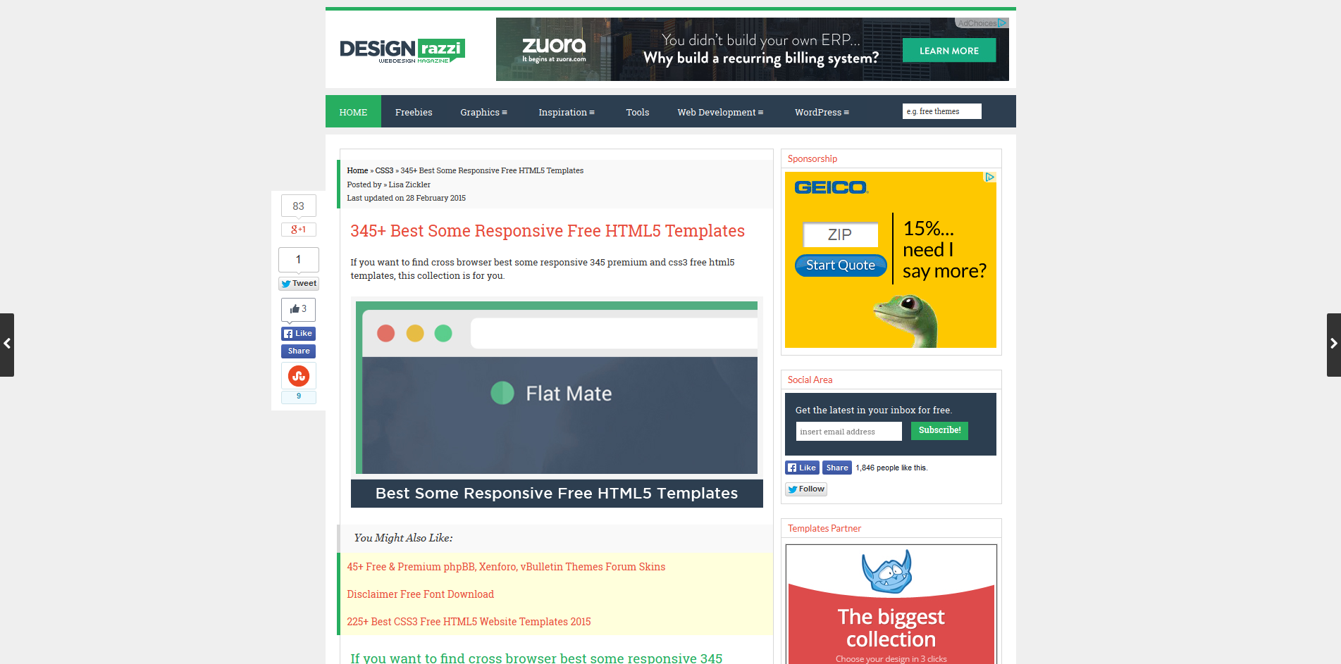 Responsive Design Template And Themes Ugurus