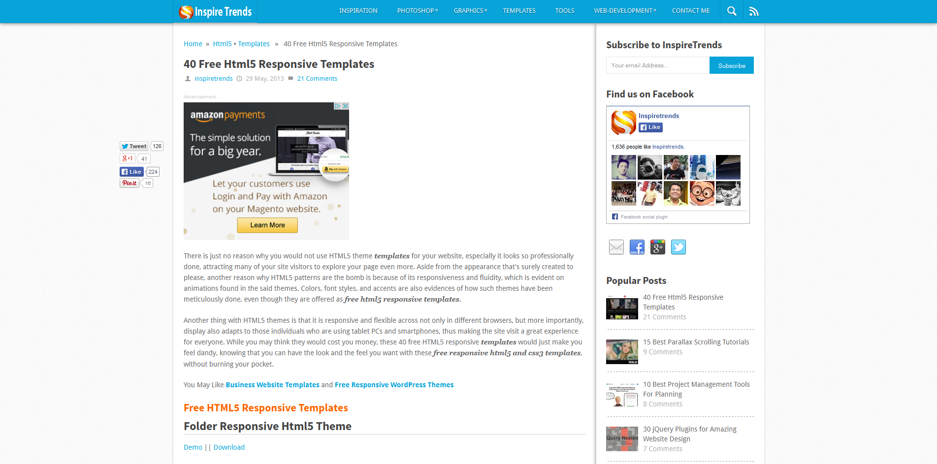 online learning solutions responsive templates. Black Bedroom Furniture Sets. Home Design Ideas